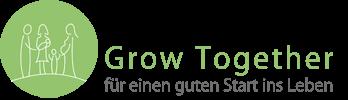 Logo Grow together - für einen fairen Start ins Leben